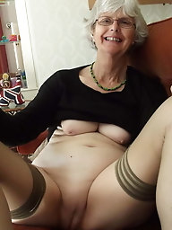 Granny whore is a meaty threehole fuckdoll