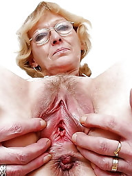 Incredible older lady is baring it all on pics